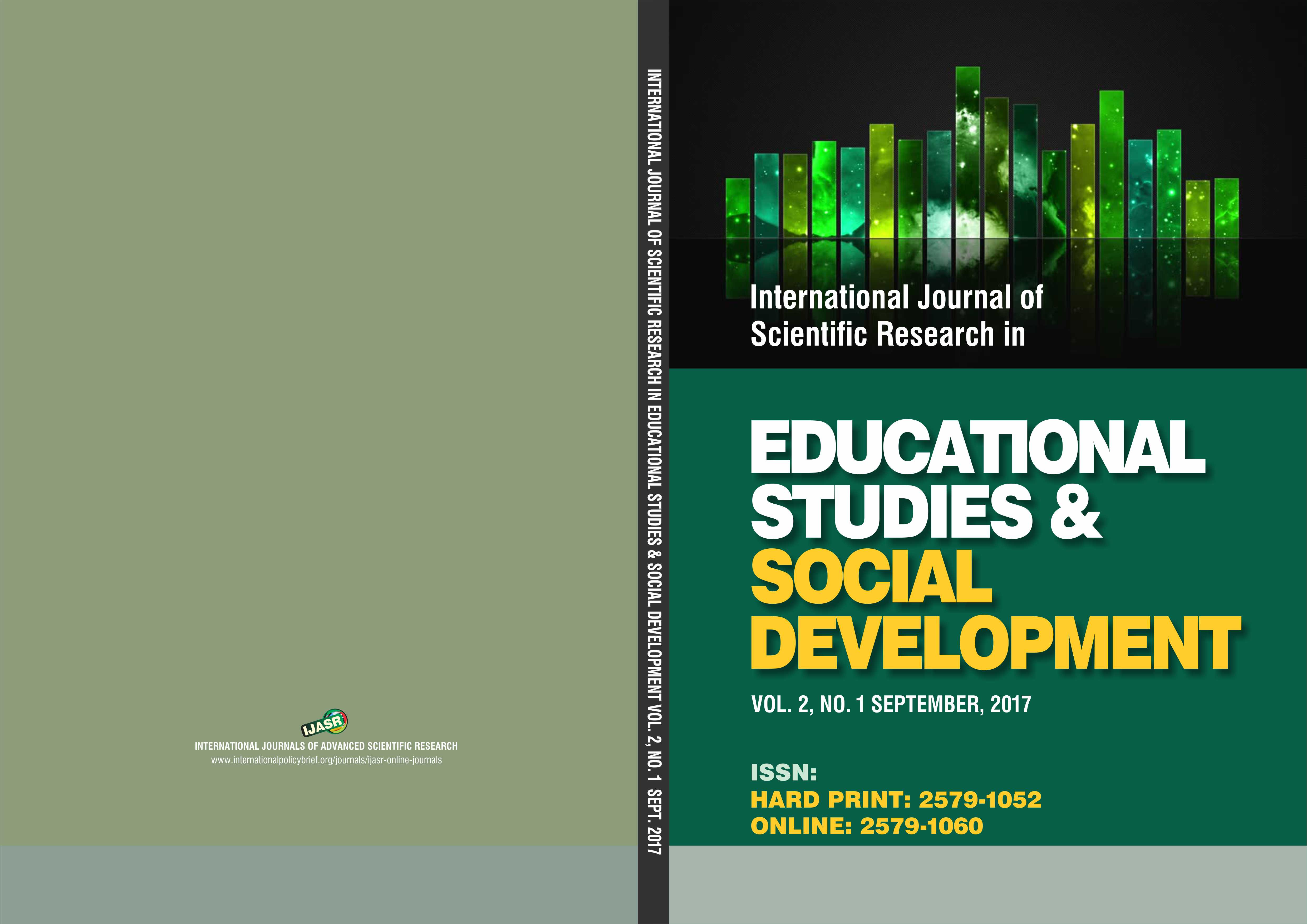 international journal of academic research International journal of academic research in business and social sciences regular articles: these articles should have cautiously confirmed findings and the research methodologies used should be explained in sufficient detail in order to be easily verified by others.